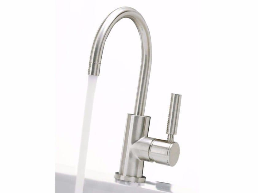 Single handle washbasin mixer with adjustable spout DA-DA | Single handle washbasin mixer by ZAZZERI