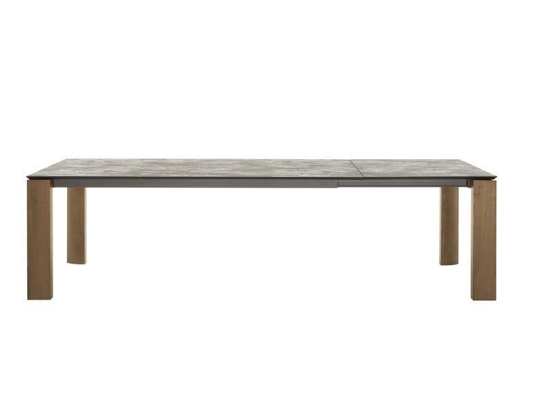 Extending rectangular table DADA by Tonin Casa