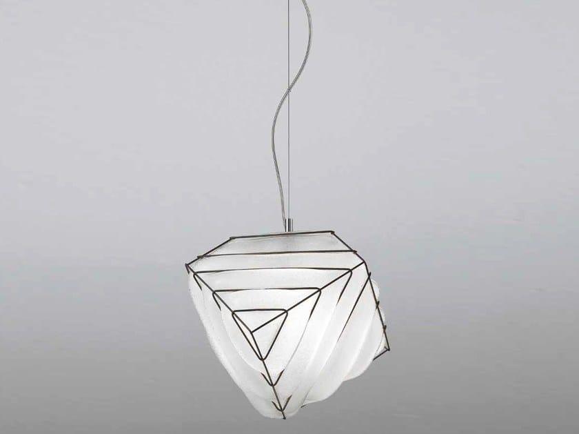 Murano glass pendant lamp DADO RS 431 by Siru