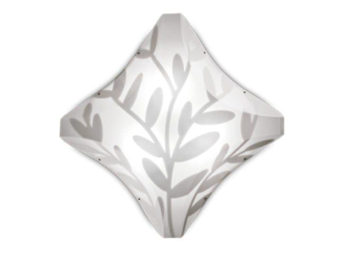 LED Opalflex® ceiling light DAFNE   Ceiling light by Slamp