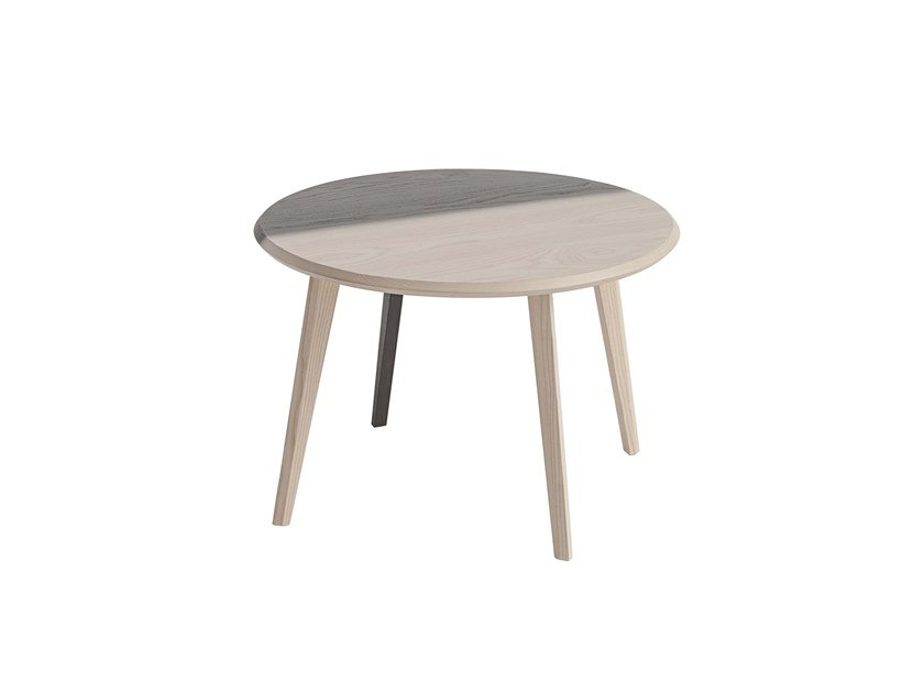 Round ash coffee table DAHLIA | Coffee table by Italcollections