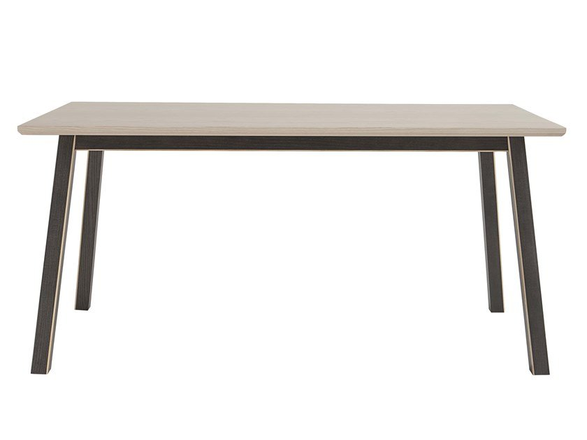 Rectangular ash table DAHLIA | Table by Italcollections