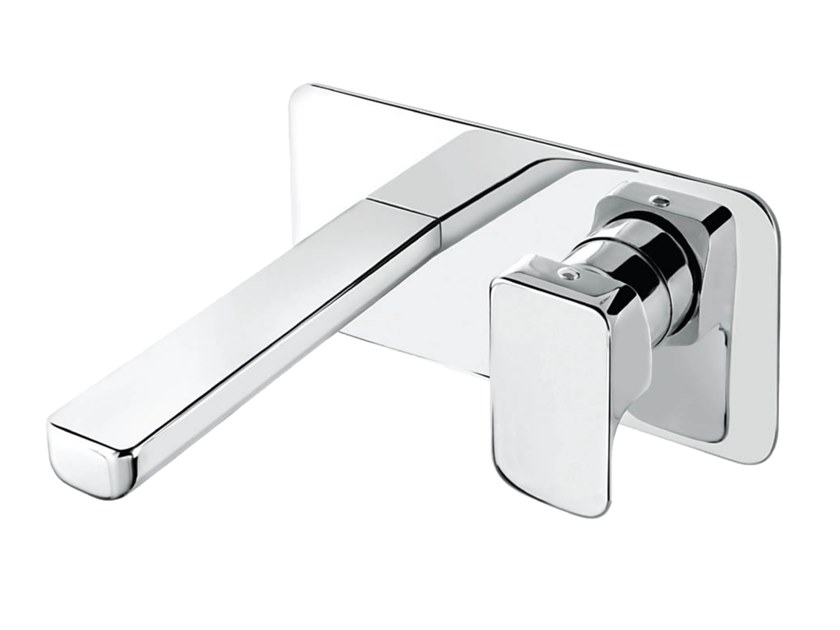 2 hole wall-mounted single handle washbasin mixer DAILY 44 - 4410108 by Fir Italia