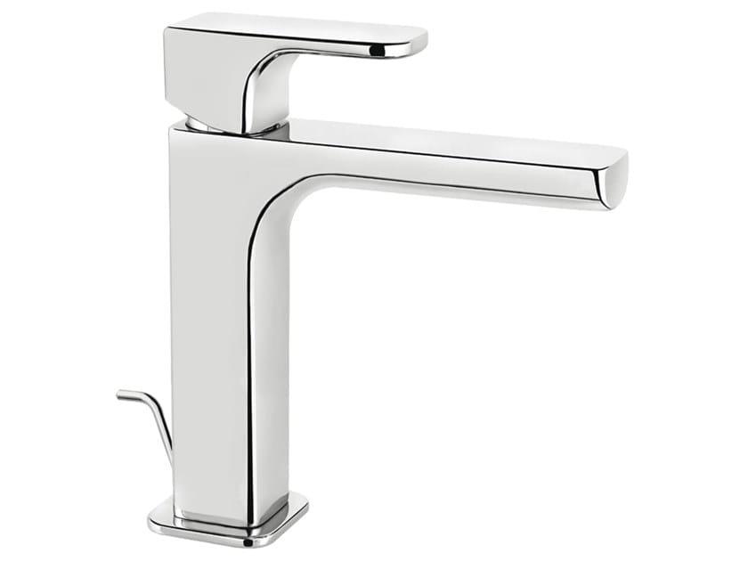 Countertop single handle 1 hole washbasin mixer DAILY 44 - 4411301 by Fir Italia