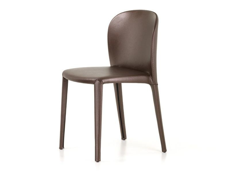 Leather chair DAISY by Cattelan Italia