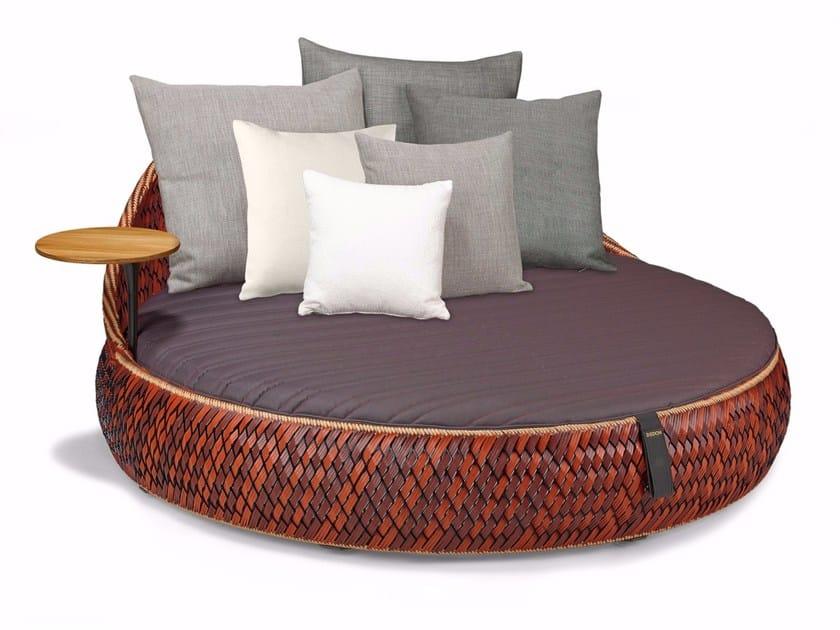 Fabric garden bed DALA LOVESEAT by Dedon