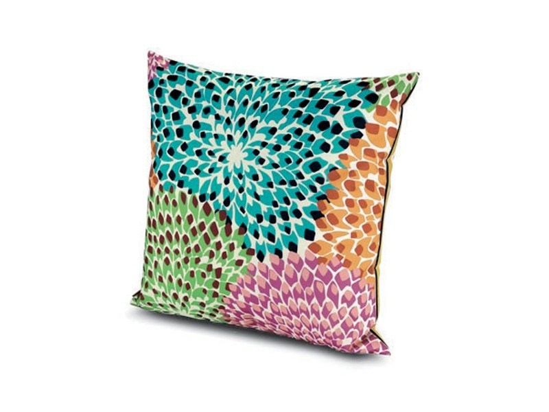 Square fabric cushion DALIA RAINBOW | Square cushion by MissoniHome