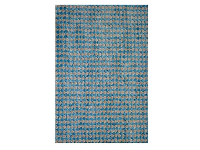 Patterned rectangular rug DAMA by Adriani e Rossi edizioni