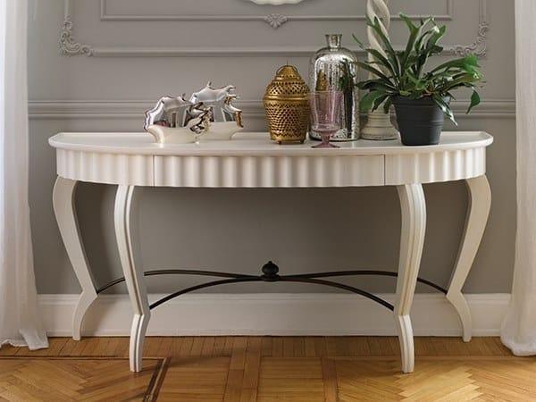 Lacquered oak console table GRAN DUCA | Oak console table by Prestige