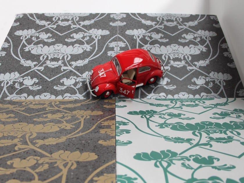 Rivestimento / pavimento in pietra lavica DAMASCO by Sgarlata