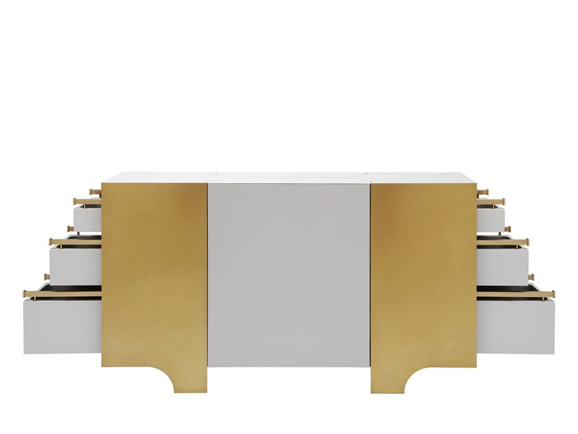 Lacquered sideboard with drawers DAMSON | Sideboard by Douglas Design Studio