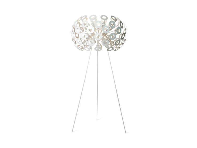 Aluminium floor lamp DANDELION FLOOR LAMP by moooi