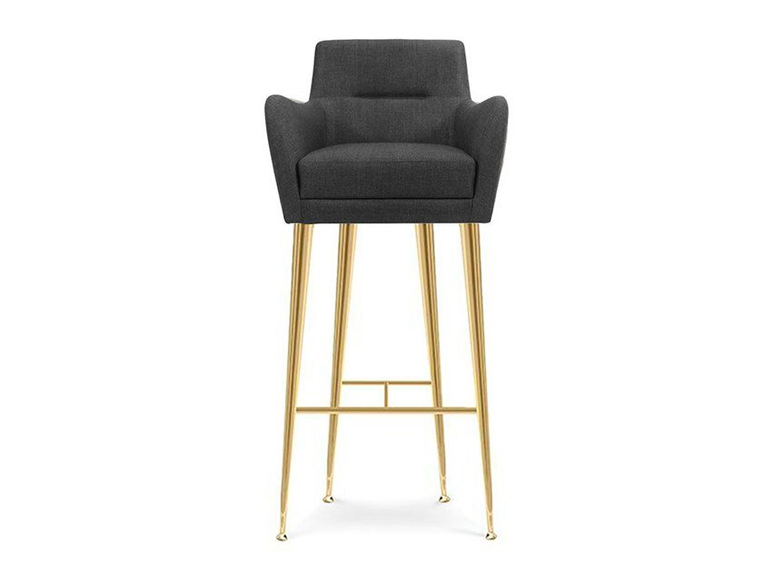 Barstool with armrests DANDRIGE | Barstool by Essential Home