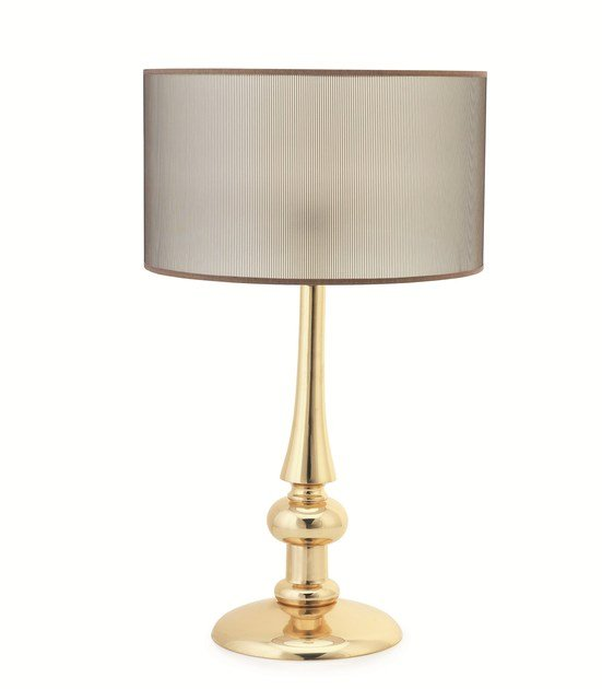 Contemporary style metal table lamp DANDY by ENVY