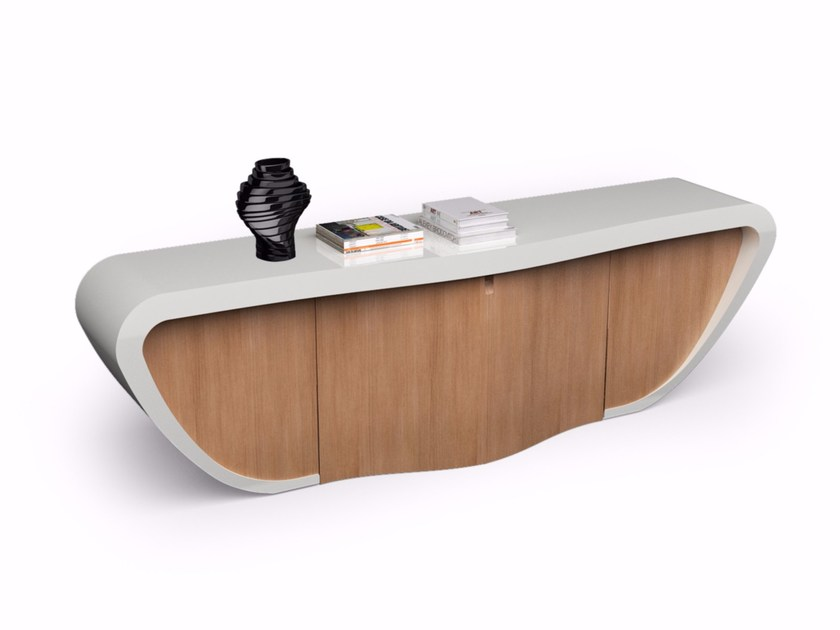 Adamantx® sideboard with doors DANDY by ZAD ITALY