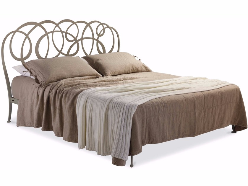 Iron double bed DANIEL by Cantori