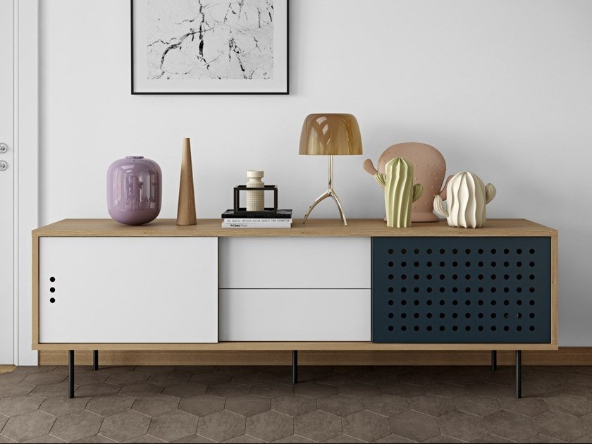 Sideboard with drawers DANN DOTS | Sideboard with drawers by TemaHome