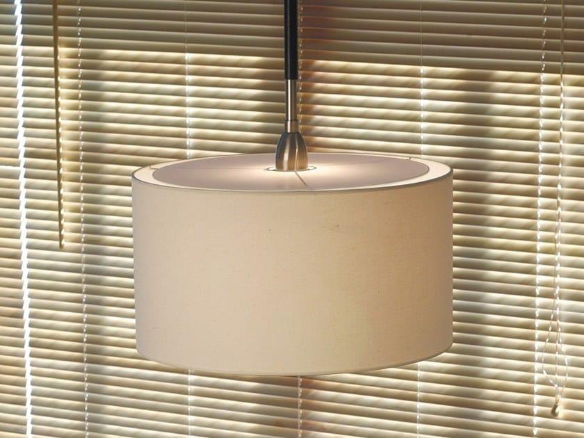 Lampada a sospensione a luce diretta e indiretta DANONA S/1L by BOVER