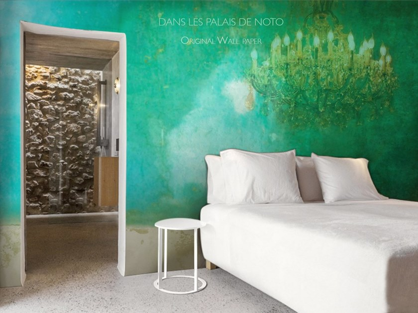 Waterproof wallpaper DANS LES PALAIS DE NOTO | Wallpaper by Elisabeth Leroy Collections