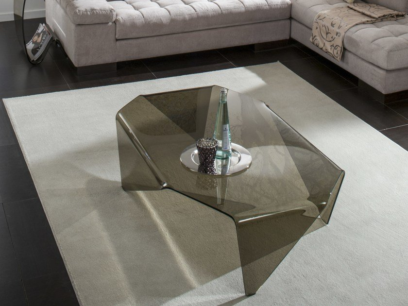 Glass coffee table DANTE by IDEAS Group