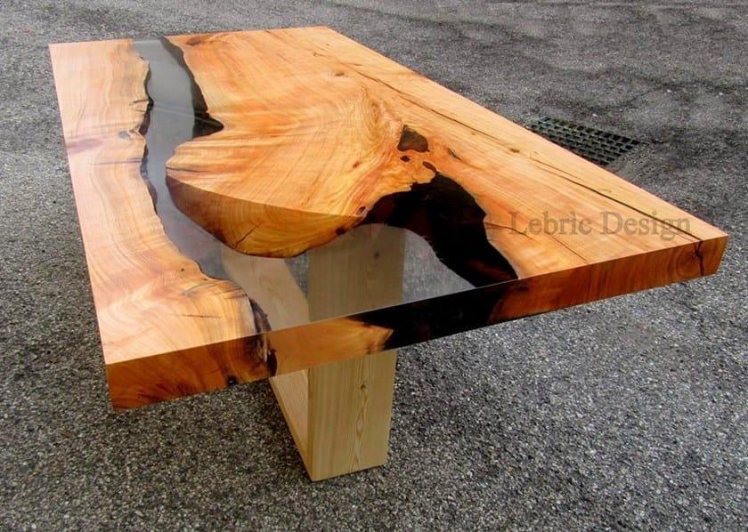 tavolo in resina e legno danubio by antico trentino. Black Bedroom Furniture Sets. Home Design Ideas