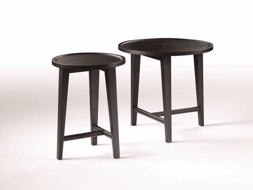 Round wooden coffee table DANY by FLEXFORM