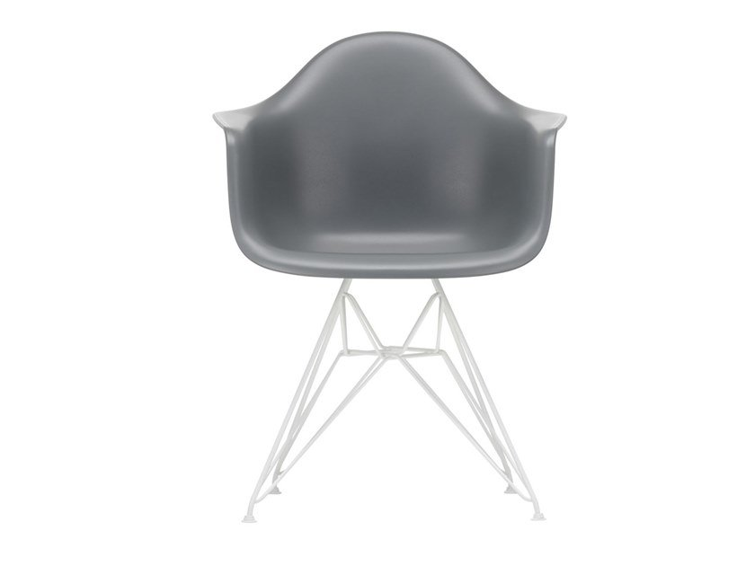 Upholstered polypropylene chair with integrated cushion DAR | Chair with integrated cushion by Vitra