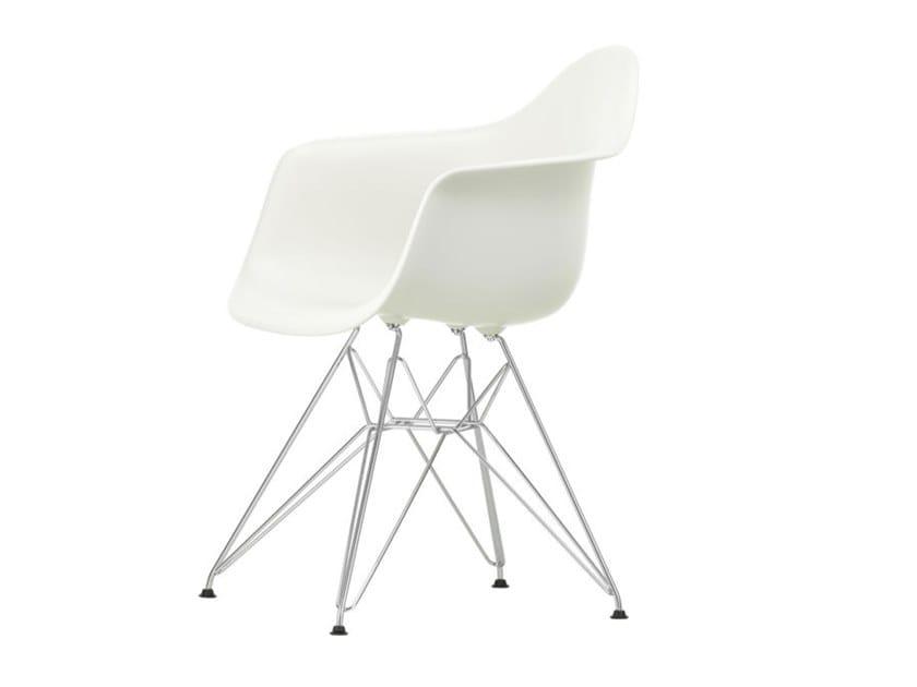 Polypropylene chair with armrests DAR | Polypropylene chair by Vitra