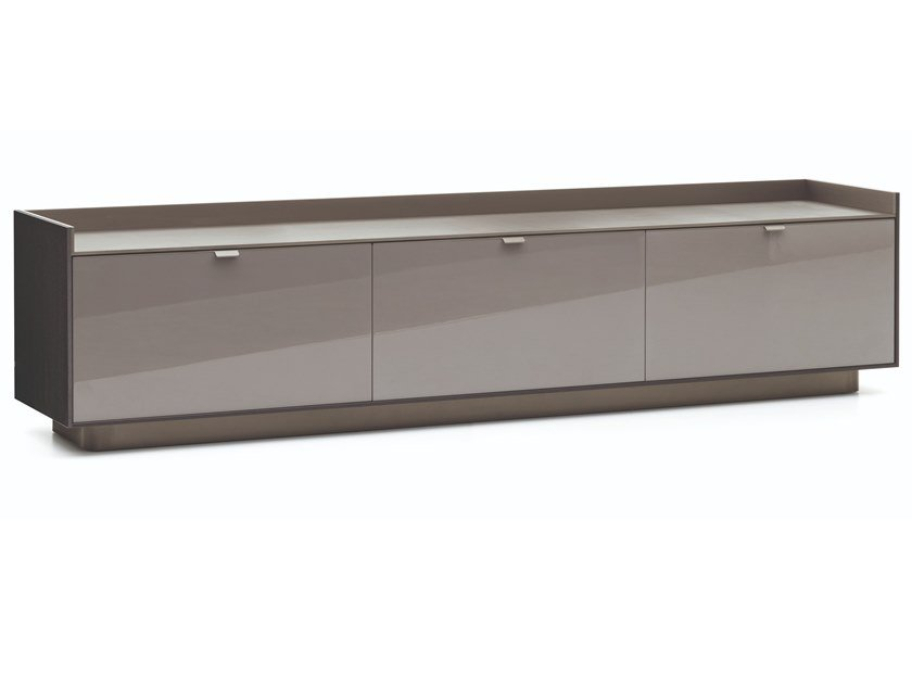Lacquered wooden sideboard with drawers DARREN   Sideboard by Minotti