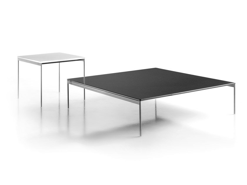 Square Etched Gl Coffee Table