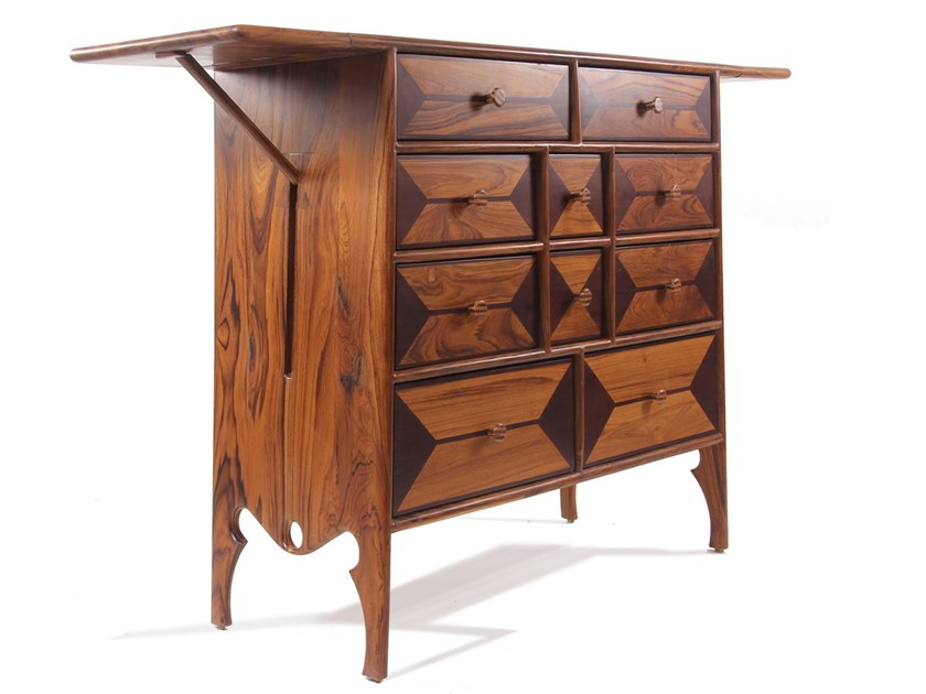 Wooden chest of drawers DAS DARAJ by ALANKARAM