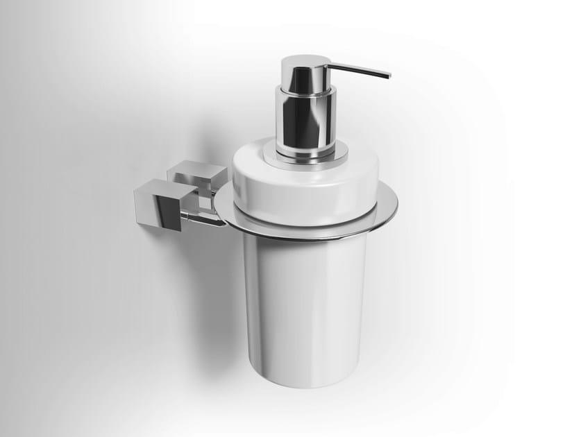 Wall-mounted ceramic liquid soap dispenser DATURA | Liquid soap dispenser by Alna