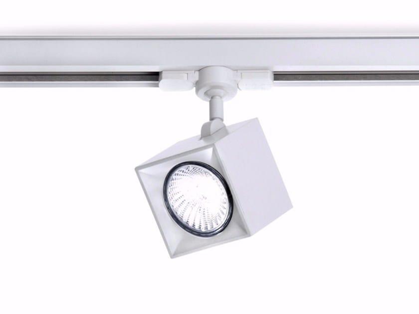 Illuminazione a binario a LED in alluminio estruso DAU SPOT 6163 by Milan Iluminacion