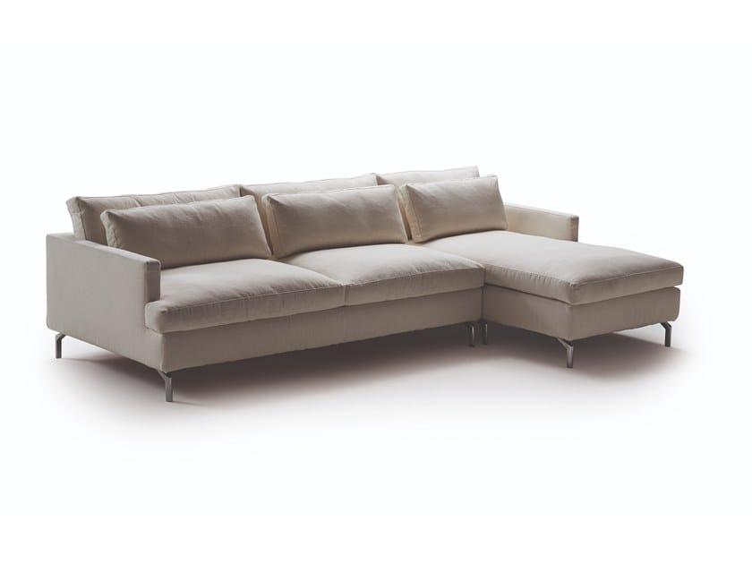 DAVE | Divano letto con chaise longue By Milano Bedding
