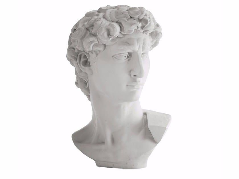 Plaster sculpture DAVIDE by Adriani e Rossi edizioni