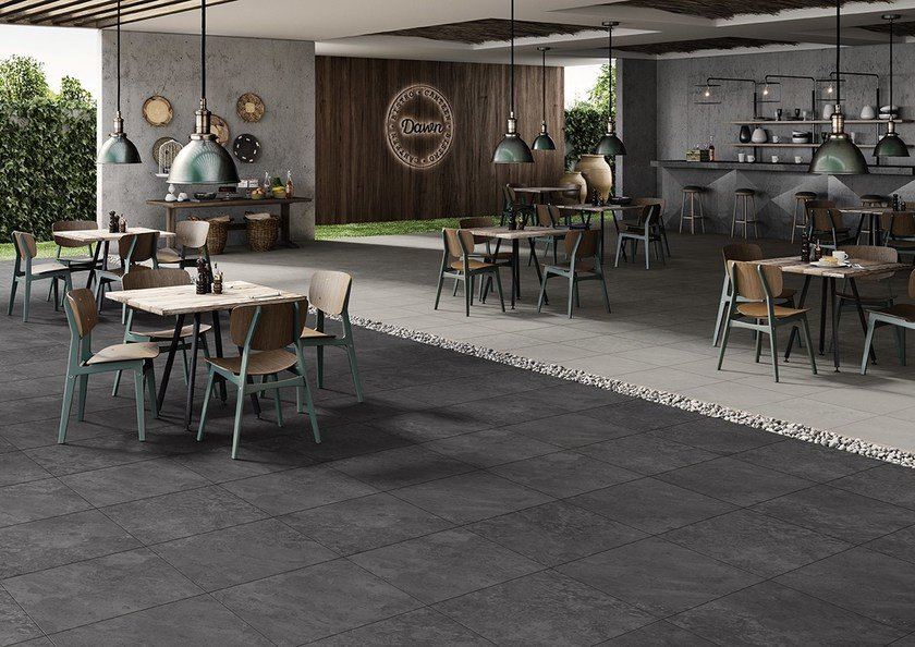 Vehicular Outdoor Floor Tiles With Stone Effect Dawn By Love
