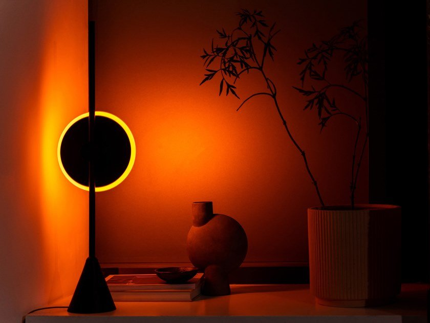 LED polycarbonate table lamp DAWN TO DUSK | Table lamp by Haberdashery