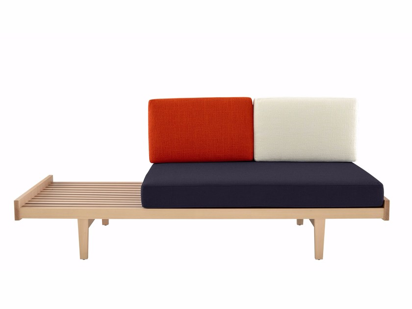 Oak sofa bed DAYBED by Ligne Roset