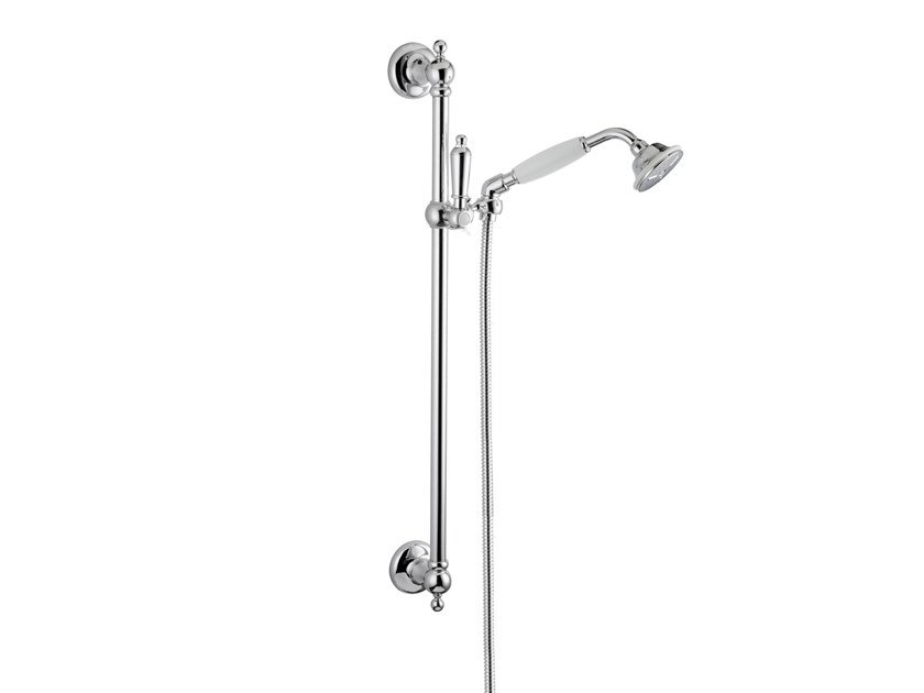 Shower wallbar with hand shower with hose DAYTIME STYLE | Shower wallbar by newform