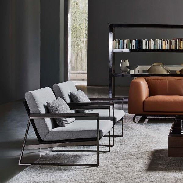 Upholstered armchair DAYTONA by Ditre Italia