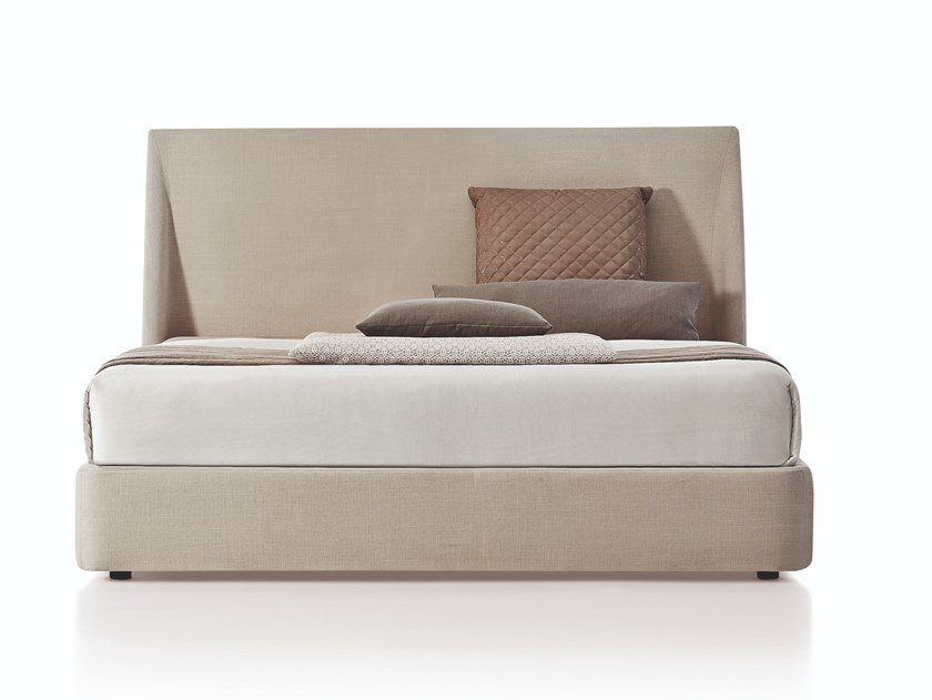 Fabric storage bed DAYTONA | Bed by Busnelli