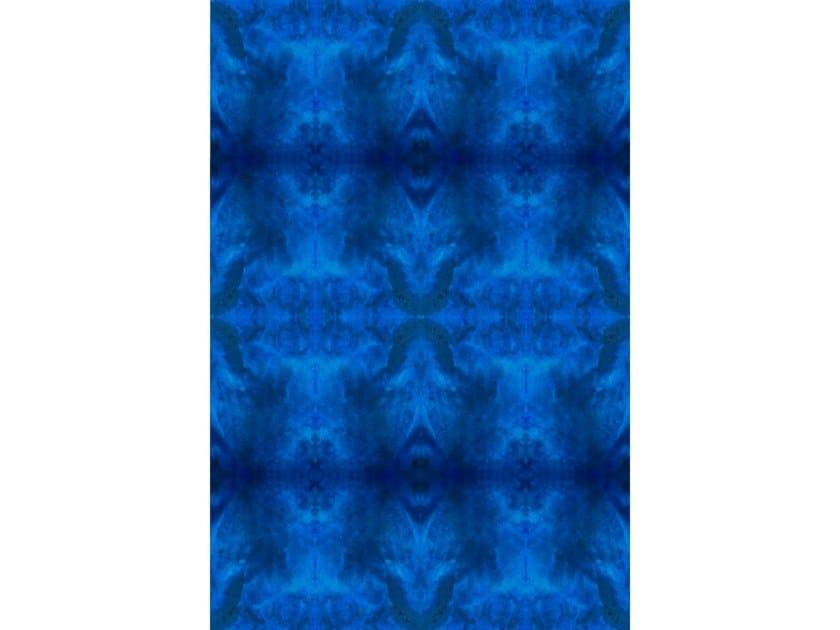 Broadloom printed carpet DAZZLING BLUE by Miyabi casa