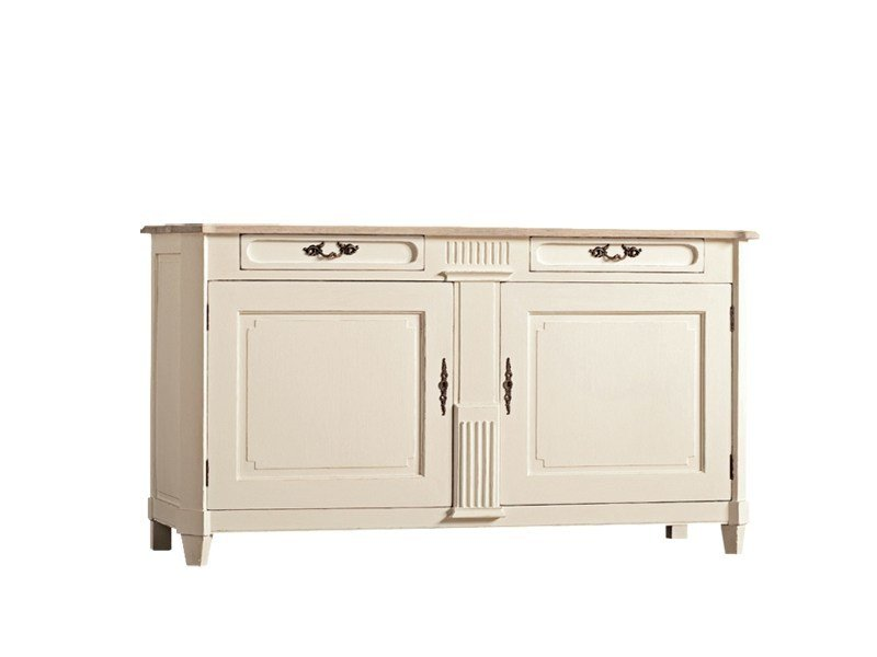 Lacquered oak sideboard with doors DB001648 | Sideboard with doors by Dialma Brown