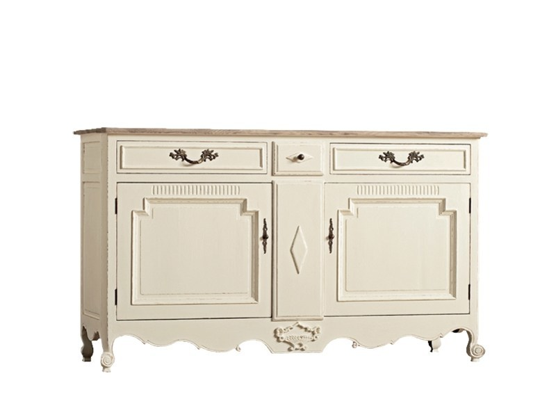 Lacquered oak sideboard with doors DB001651 | Sideboard with doors by Dialma Brown