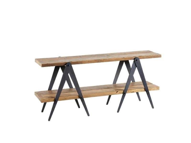 Consolle rettangolare in legno DB003986 by Dialma Brown