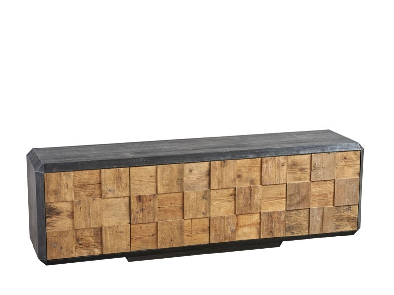 Reclaimed wood sideboard with doors DB004119 | Sideboard with doors by Dialma Brown