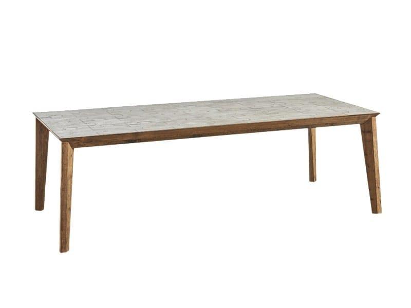 Tavolo da pranzo rettangolare DB004122 by Dialma Brown