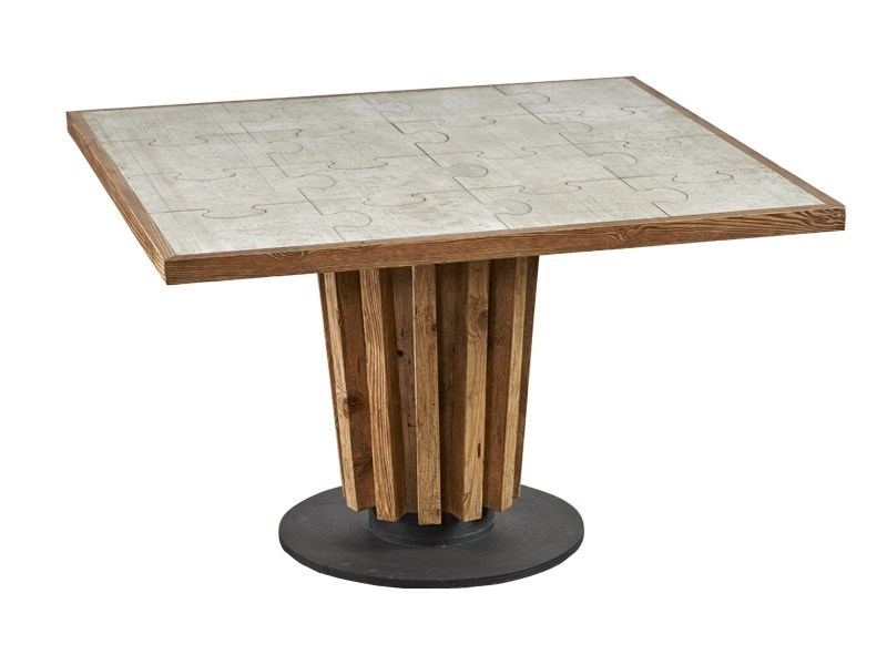 Square dining table DB004135 by Dialma Brown