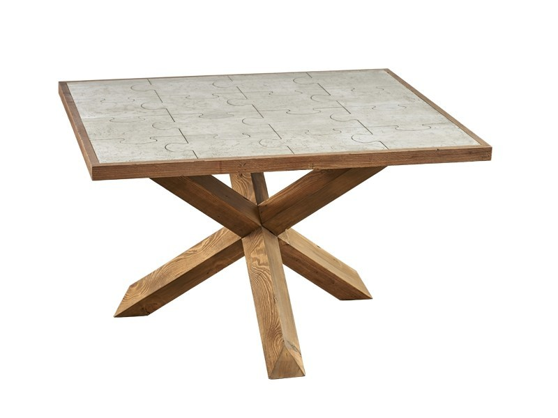 Square dining table DB004136 by Dialma Brown