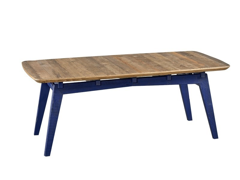 Rectangular reclaimed wood dining table DB004139 by Dialma Brown
